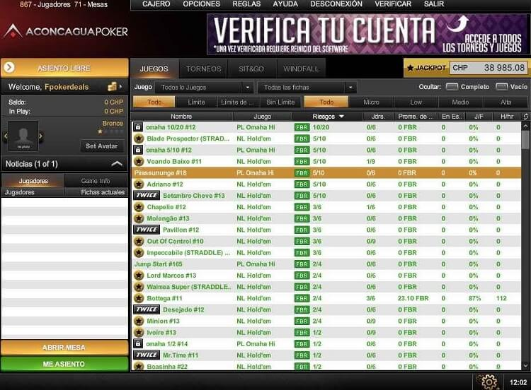 Лобби Poker De Las Americas