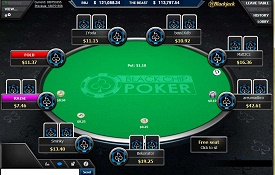 Скриншот Black Chip Poker