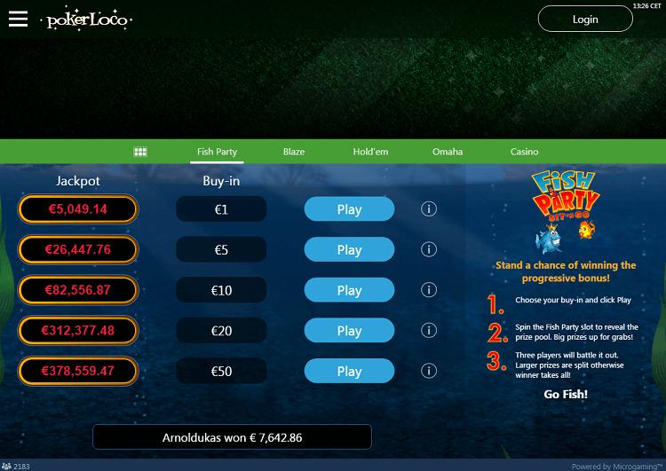 Спины в PokerLoco