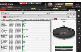 Скріншот PokerStars
