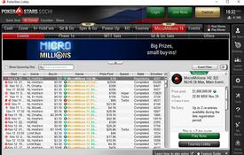 PokerStars Sochi screenshot