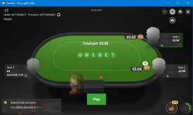 Скріншот Unibet Poker