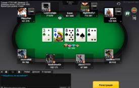 Скріншот Bwin Poker