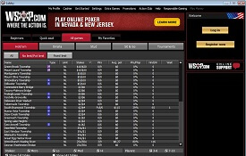 WSOP.com screenshot