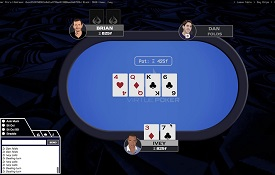 Virtue Poker screenshot