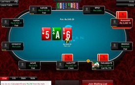 Spartan Poker screenshot
