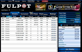 Fulpot Poker screenshot