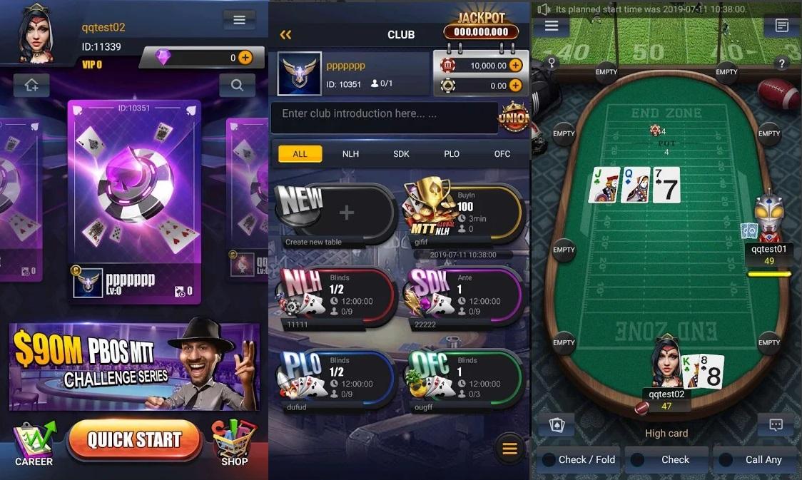 PokerBros app