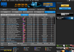 888poker capturas de tela