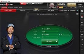 PokerStars capturas de tela