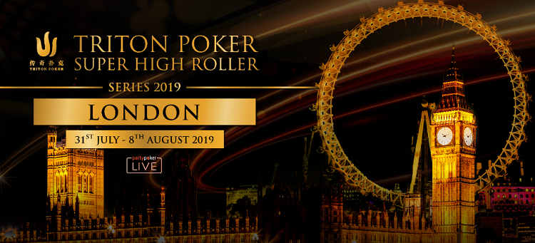 Triton Super High Roller Series London 2019