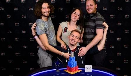 Джастин Бономо выиграл в турнире €2.000 No-Limit Hold'em