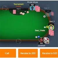 Бесплатная интерактивная раздача-загадка от покерного тренера