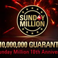 Юбилейный Sunday Million на PokerStars