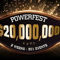 Сегодня стартует серия PowerFest на PartyPoker