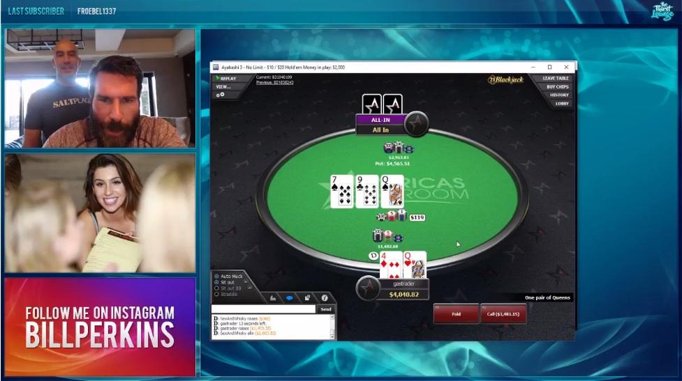 Покерный стрим Дэна Билзеряна