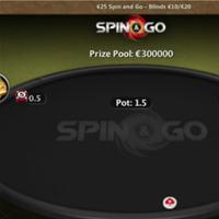 Россиянин выиграл 250 000€ в Spin&Go во время стрима