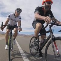 Билзерян активно тренируется с профессиональным велогонщиком