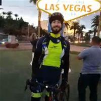 Новое велосипедное пари: Брайан Раст выехал в путь