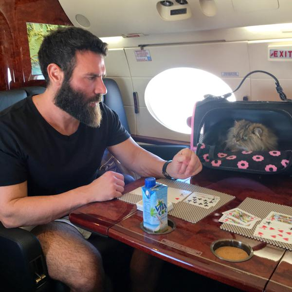 Дэн Билзерян играет в китайский покер