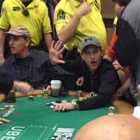 Самый буйный игрок на WSOP