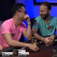 Даниэль Негреану дебютировал на шоу Poker Night in America