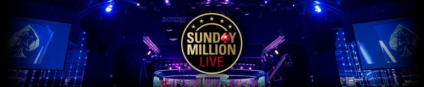 PokerStars анонсировали Sunday Million Live