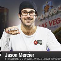 Джейсон Мерсье выиграл четвёртый браслет WSOP