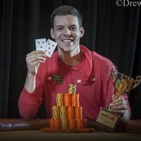 Первая победа нового профессионала команды PokerStars