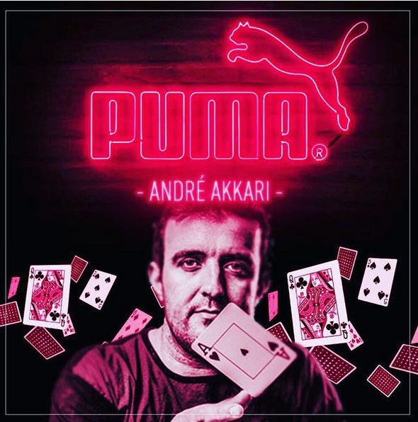 Андре Аккари PUMA