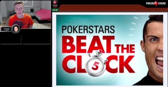 Михаил Шаламов прорекламировал турниры Beat The Clock