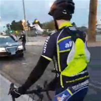 Закончился первый день велосипедного пари «по следам Билзеряна»