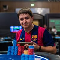 Кирилл Родионов доволен кэшем во время WSOP