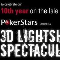Красочное 3D шоу в честь PokerStars