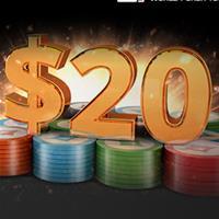 Бесплатные 20$ в покер-руме PartyPoker