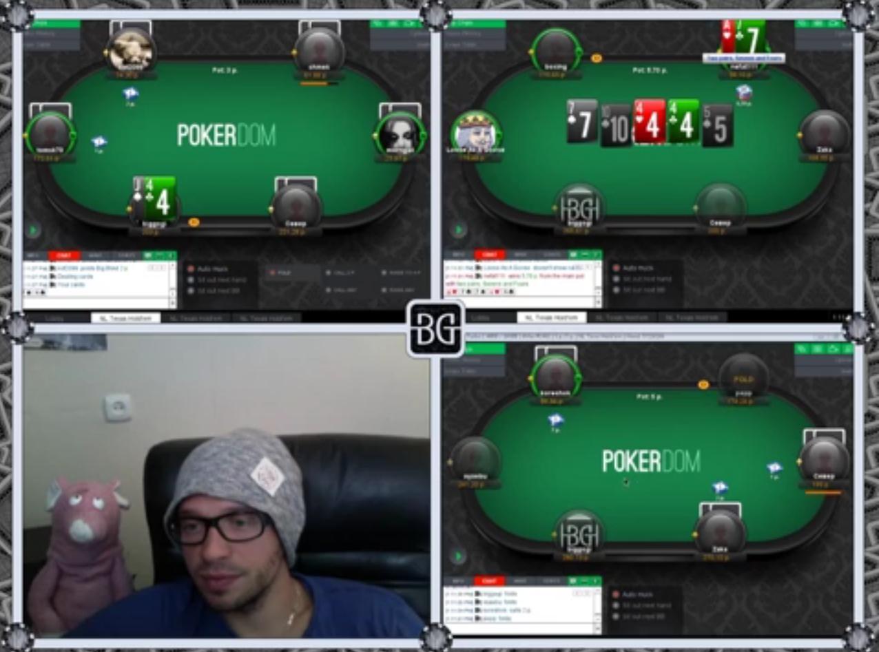 BigGOGI VOD pro poker # 1