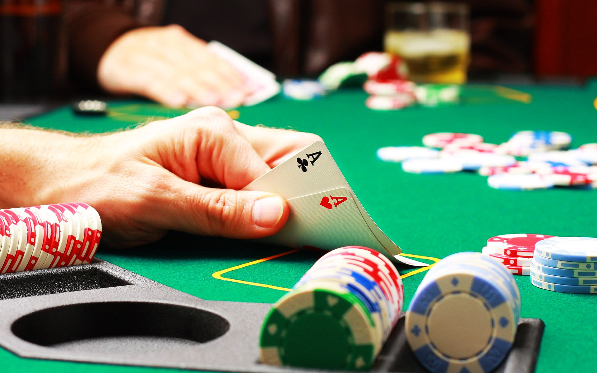 Евреи покер