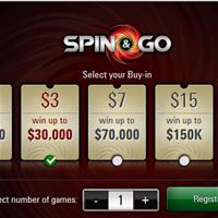 PokerStars увеличили джекпот в SpinGo