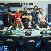 888Live Barcelona: сделка на девятерых