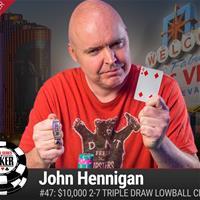 Джон Ханнинган выиграл четвертый браслет WSOP