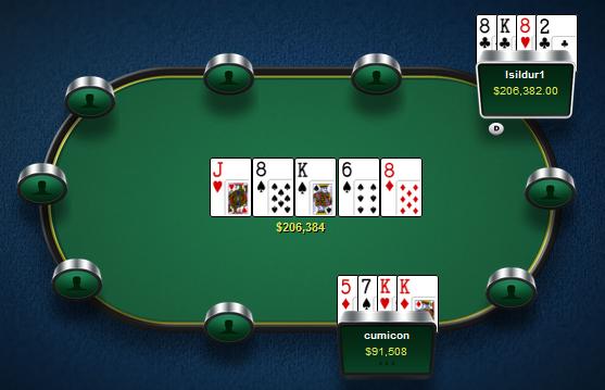 Isildur1 проиграл больше $136.000